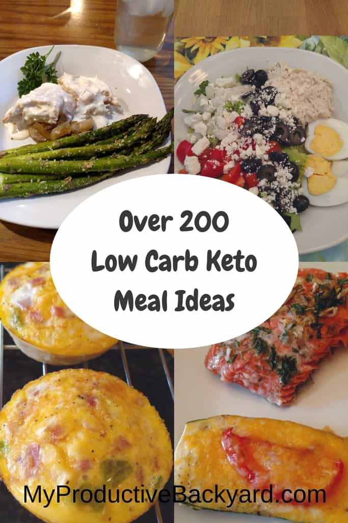 Over 200 Low Carb Keto Meal Ideas