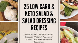 25 Low Carb Keto Salad and Salad Dressing Recipes