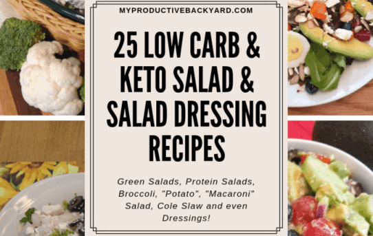 25 Low Carb & Keto Salad & Salad Dressing Recipes