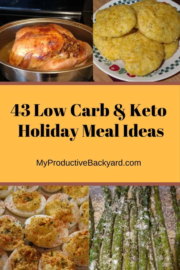 43 Low Carb Keto Holiday Meal Ideas
