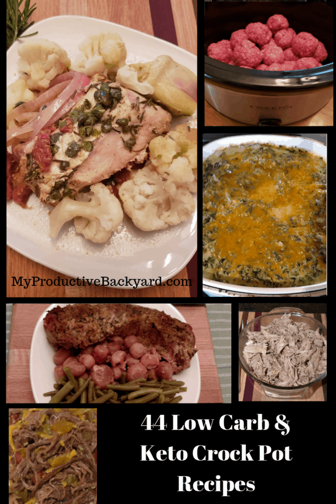 44 Low Carb Crock Pot Meals