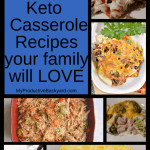 61 Low Carb Keto Casseroles collage