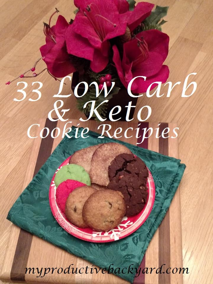 33 Low Carb Keto Cookie Recipes