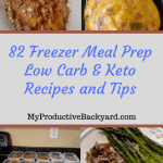 Freezer Meal Prep Low Carb Keto Recipes and Tips collage