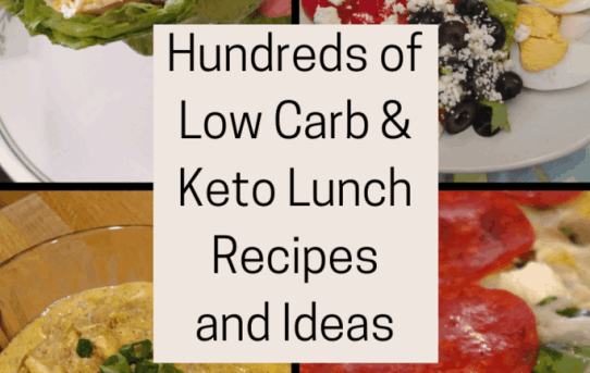 Hundreds of Low Carb Keto Lunch Recipes and Ideas