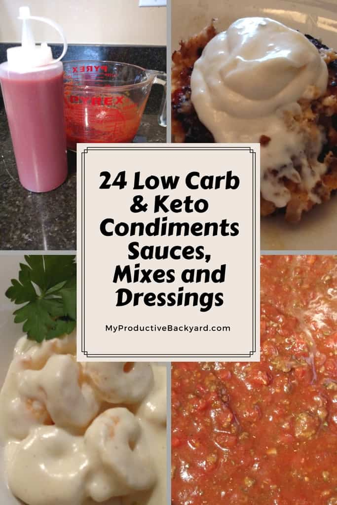24 Low Carb & Keto Condiments, Sauces, Mixes and Dressings