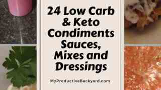 24 Low Carb Keto Condiments, Sauces, Mixes and Dressings