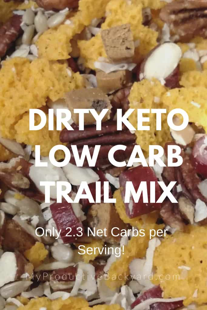 Dirty Keto Low Carb Trail Mix