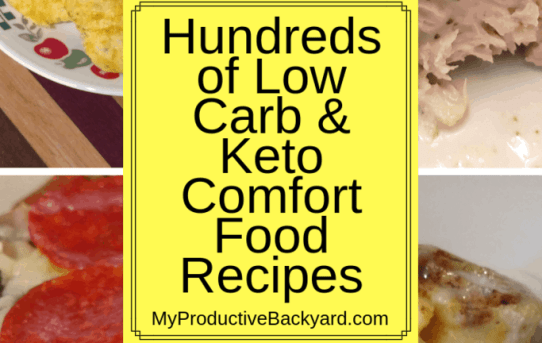 Low Carb Keto Comfort Food Recipes collage