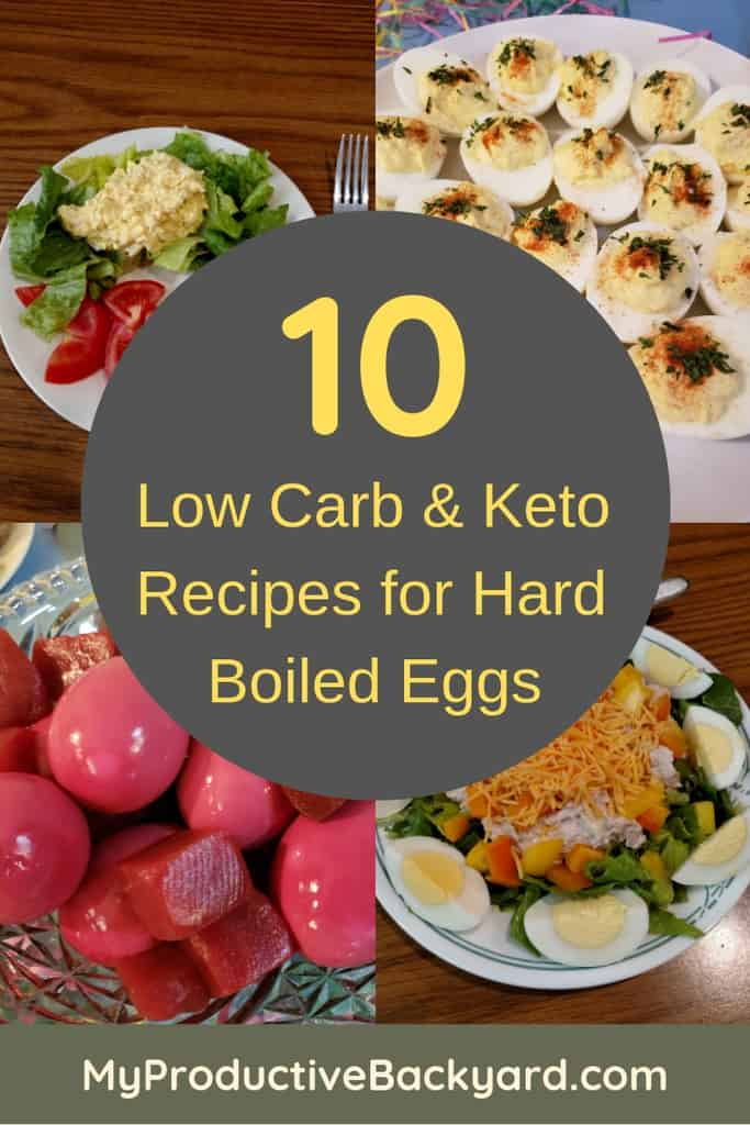 10 Low Carb Keto Recipes for Hard Boiled Eggs