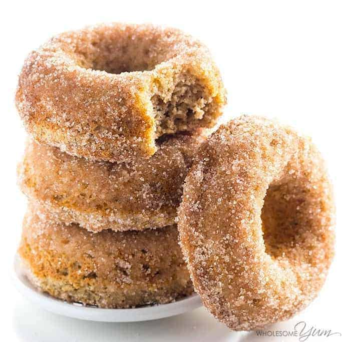 Low Carb Donuts Recipe - Almond Flour Keto Donuts (Paleo, Gluten Free)