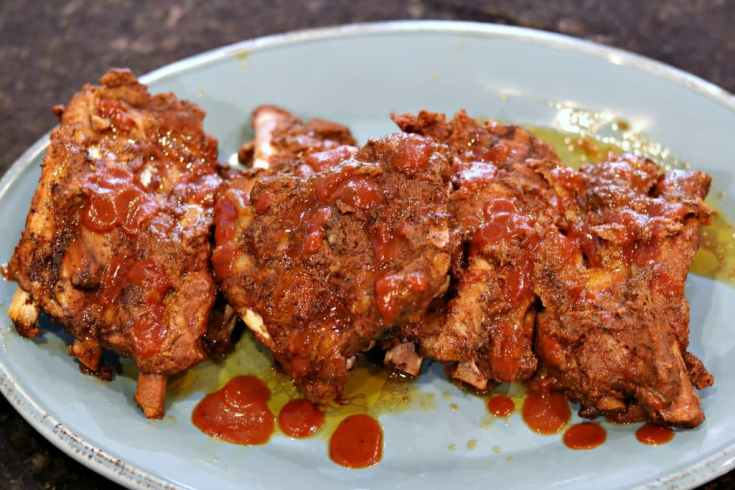 Keto Slow Cooker Cola BBQ Ribs (Sugar-free BBQ) | Dr. Davinah's Eats