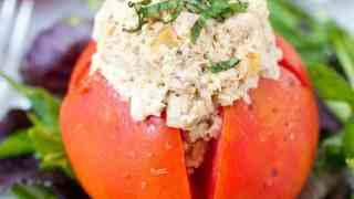 Mayo Free Caramelized Onion Chicken Salad