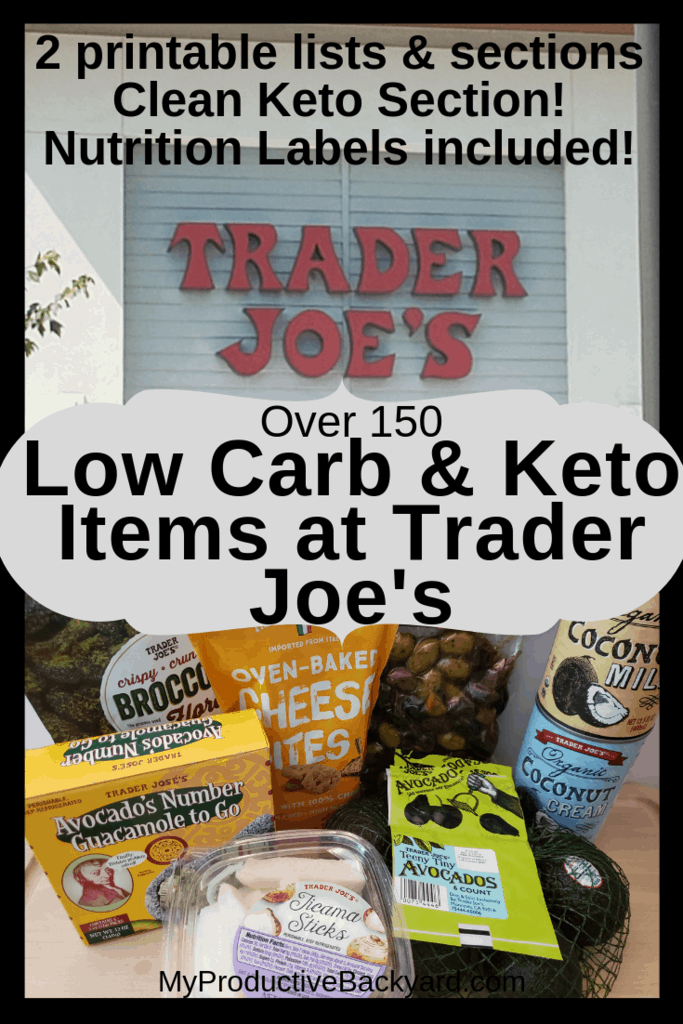 keto diet products at trader joes