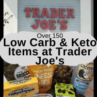 Low Carb Keto Trader Joe's Items