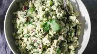 Avocado Chicken Salad Recipe: No Mayo