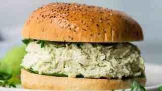 Healthy Greek Yogurt Avocado Chicken Salad No Mayo