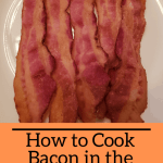 cooked bacon