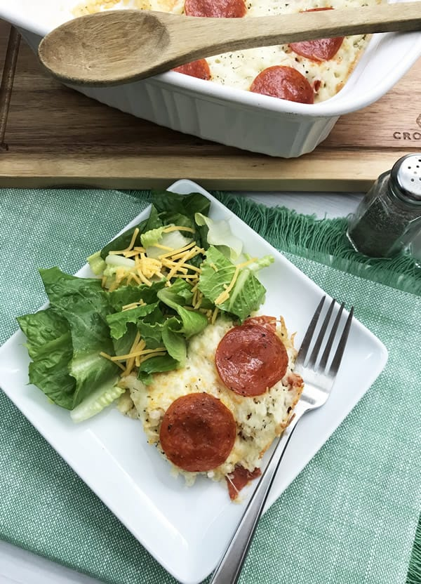 BEST Keto Casserole! Low Carb Pizza Casserole Idea – Quick & Easy Ketogenic Diet Recipe – Completely Keto Friendly