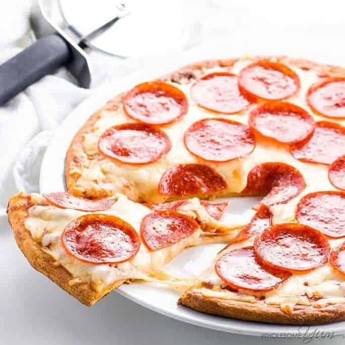 Fathead Pizza Crust Recipe (Low Carb Keto Pizza VIDEO)