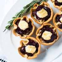Baked Brie & Cranberry Festive Cups 🎄 gluten free & keto