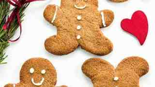 Keto Sugar-free Low Carb Gingerbread Cookies Recipe (VIDEO)