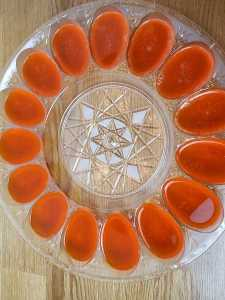 Sugar Free Deviled Jell-O Eggs