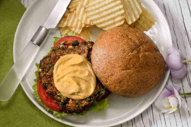 Montreal Steak Burgers | Air Fryer Burger Recipe