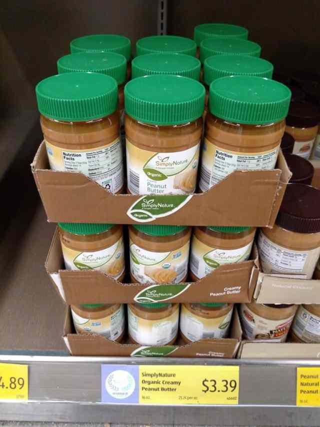Peanut Butter in store