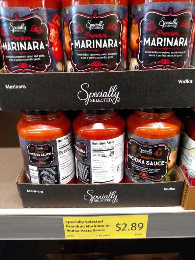 Specially Selected Premium Marinara Sauce in store