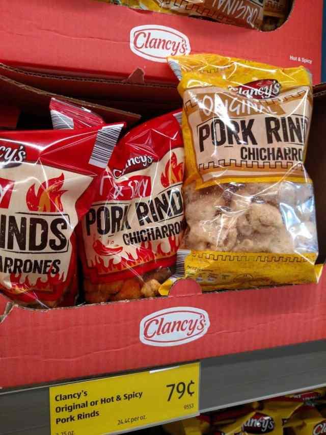 Original Pork Rinds in store