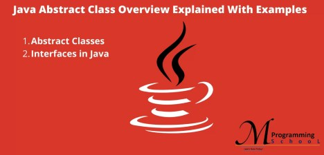 Java Abstract Class Overview With Examples