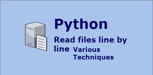 python read file line by line techniques