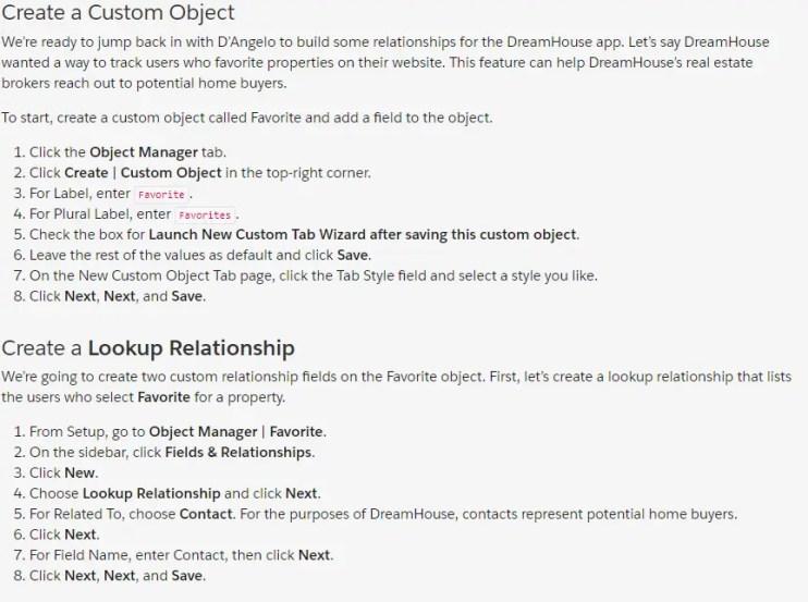 Create a Custom Object | Create Object Relationships - Data Modeling