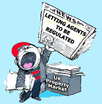 UK Lettings & Property Management Agents are to be regulated for the first time