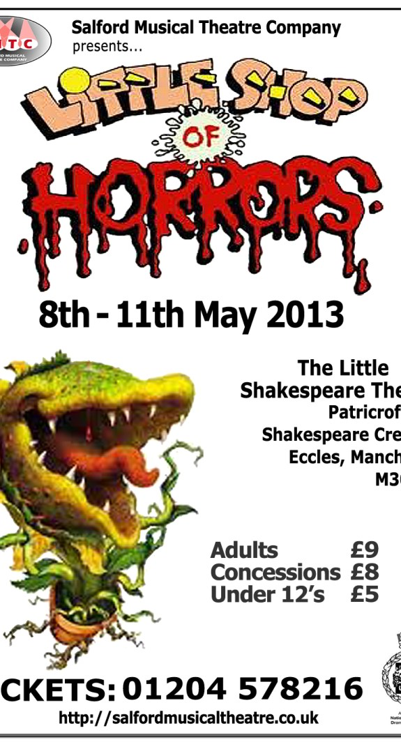 Little Shop of Horrors by SMTC - 8th-11th May 2013