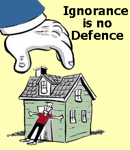 Ignorance is no defence over tenants responsibilities