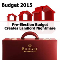 How Landlords Are Affected By 2015 Pre-Election Budget