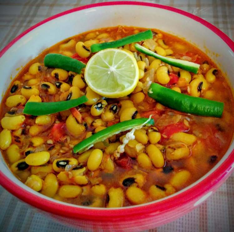 Lobia Masala Recipe Step By Step Instructions