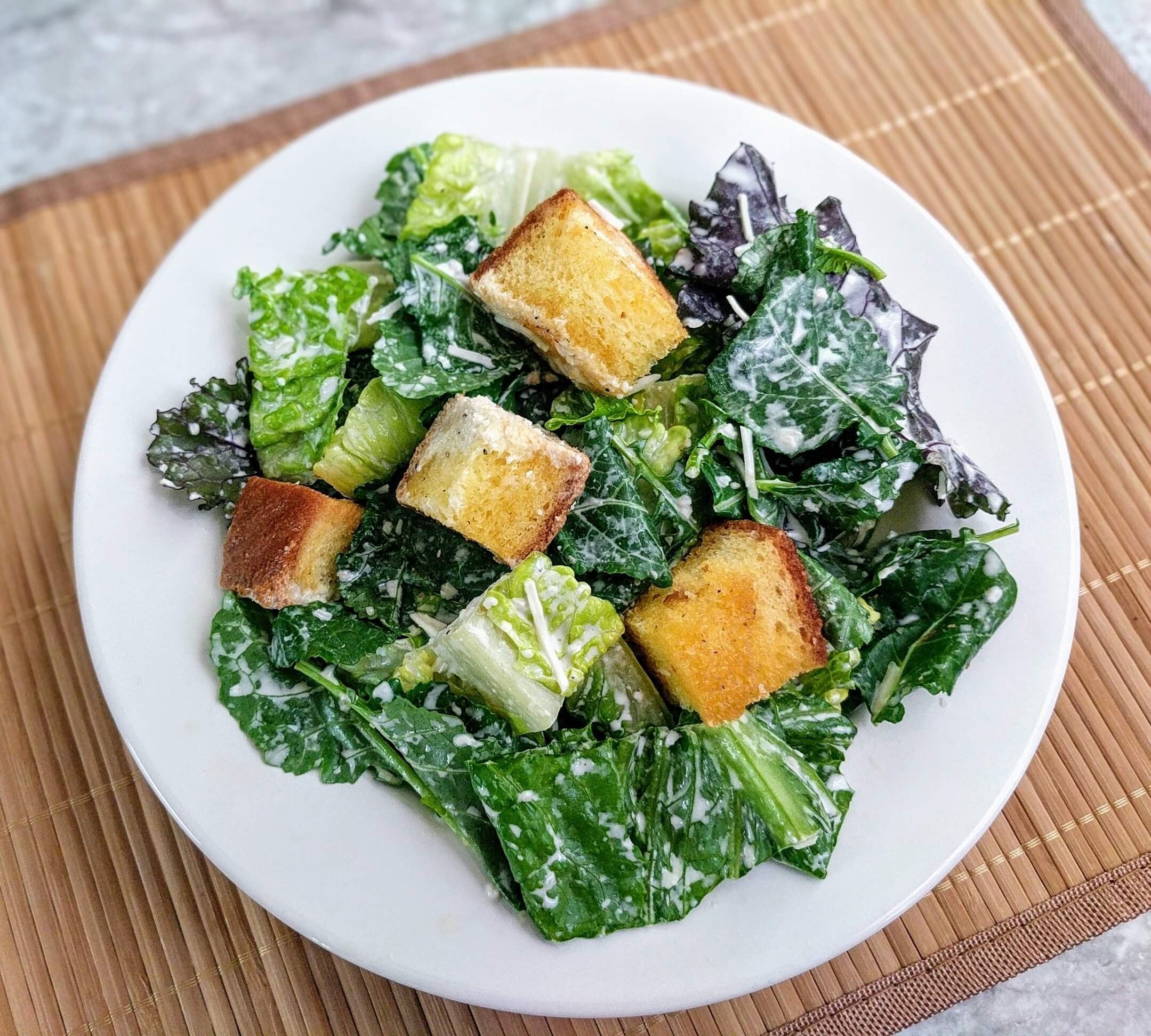 Crunchy Green Salad with Croutons Recipe Crunchy Green Salad with Croutons Recipe new photo