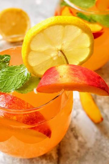 Peach Lemonade Recipe Step By Step Instructions 9