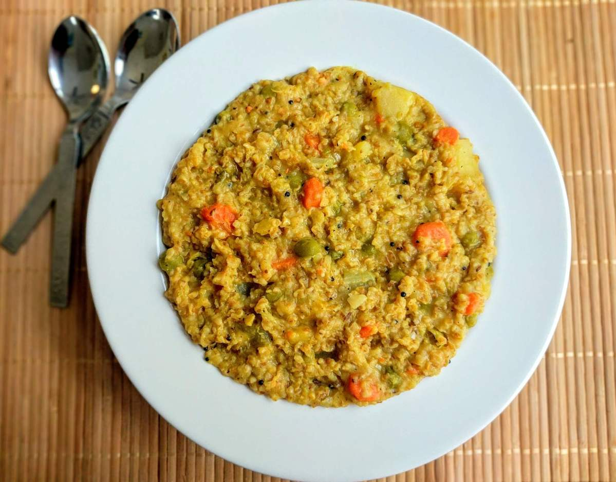 Dalia Recipe | Dalia Khichdi | Masala Vegetable Daliya