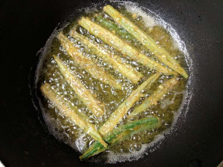 Kurkuri Bhindi Recipe Step By Step Instructions 5