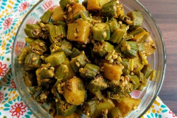 Aloo Bhindi Recipe Step By Step Instructions