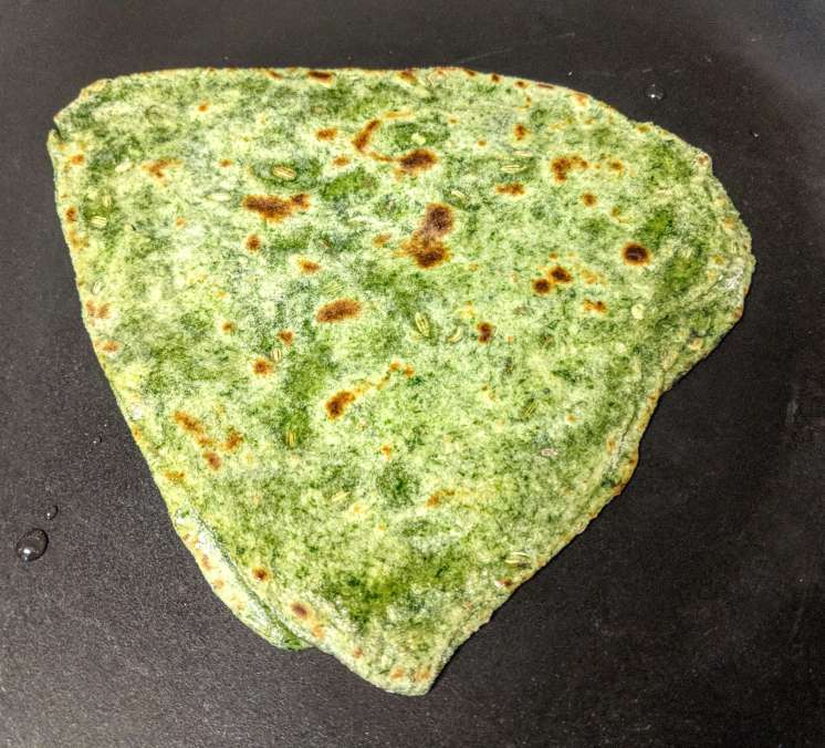 Palak Paratha Recipe Step By Step Instructions 14
