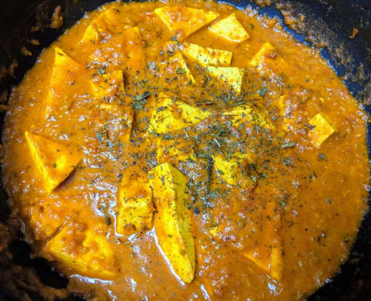 Paneer Makhani Recipe Step By Step Instructions 8