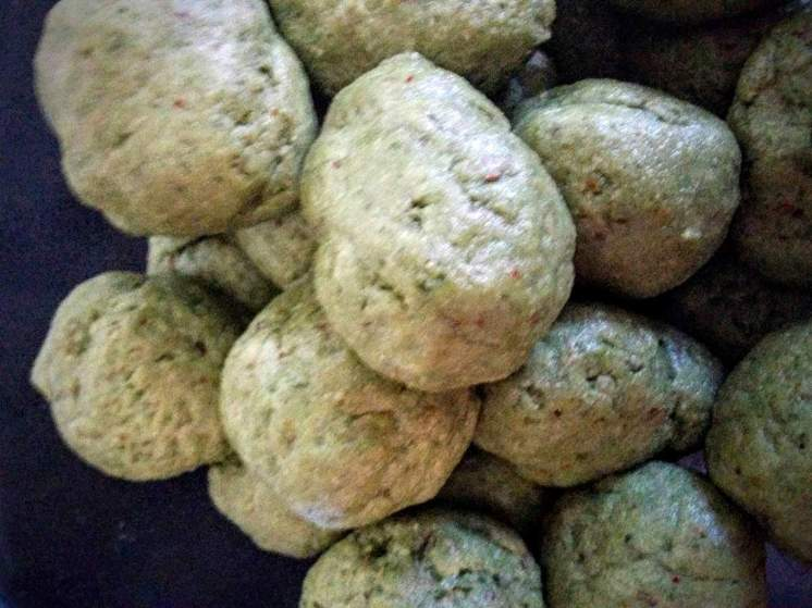 Palak Puri Recipe Instructions