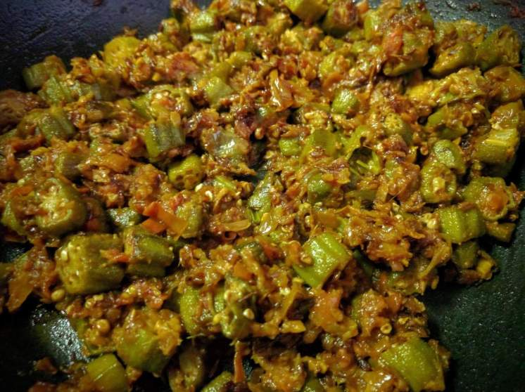 Bhindi Masala Recipe Instructions