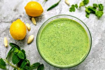 Mint Chutney Recipe Step By Step Instructions