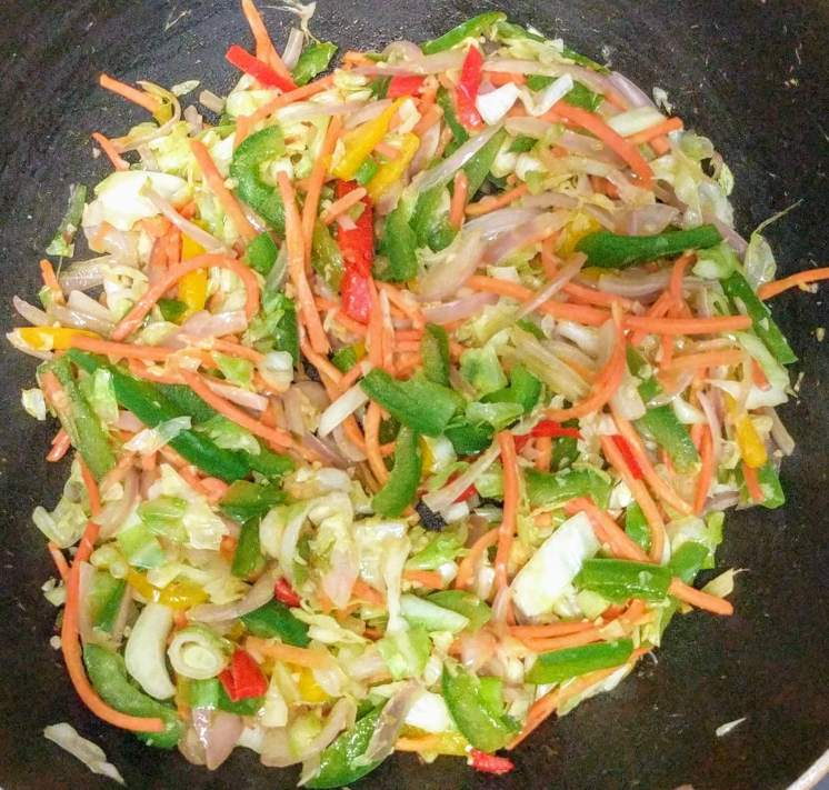 Veg Hakka Noodles Recipe with Step By Step Instructions 11